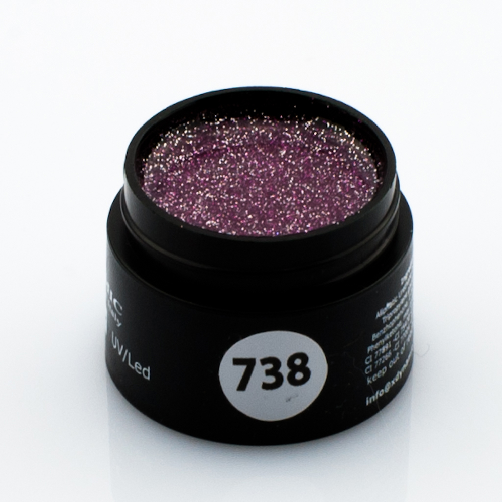 Gel Color Glitter 738